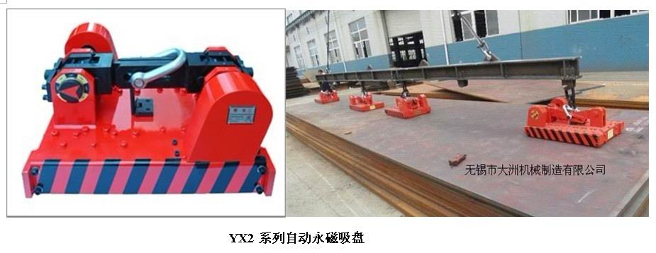 YX2系列自动式永磁吊装器